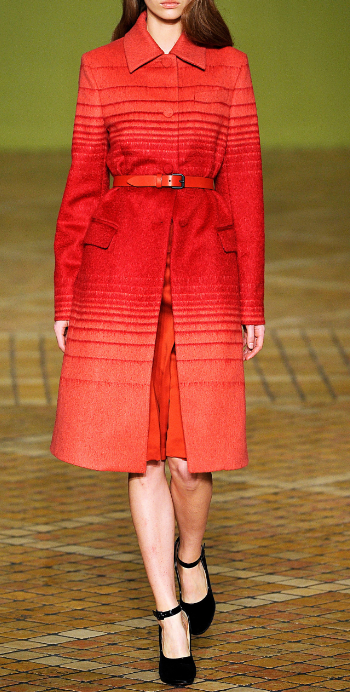 Athena wool coat Jonathan Saunders