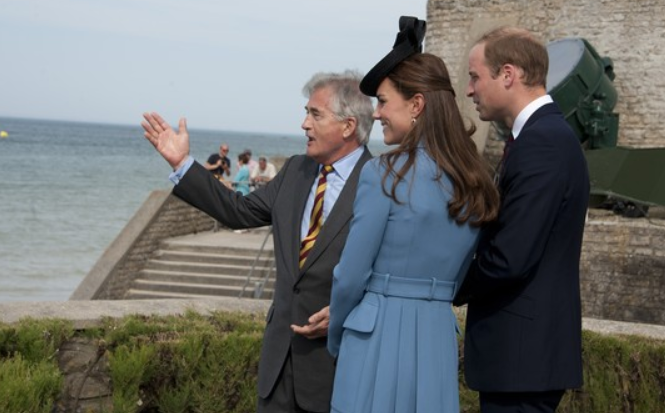 kate-william-plages-debarquement-france