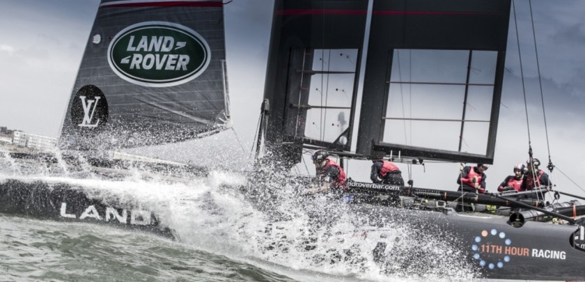Land Rover BAR Team ou la rage de vaincre