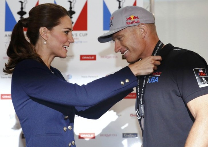 Le skipper Jimmy Spithill Oracle Team USA classé troisième
