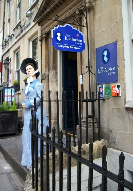 Musée Jane Austen au 40 Gay Street