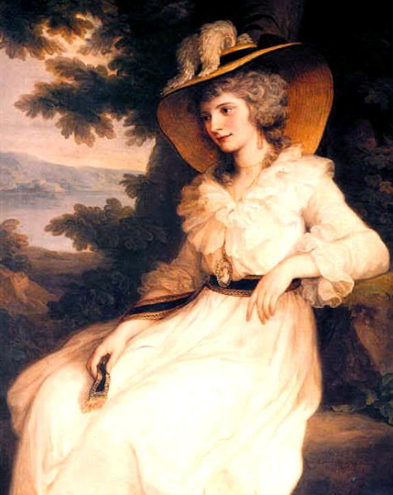 Georgiana Cavendish, duchesse de Devonshire née Spencer, ancêtre de Lady Di