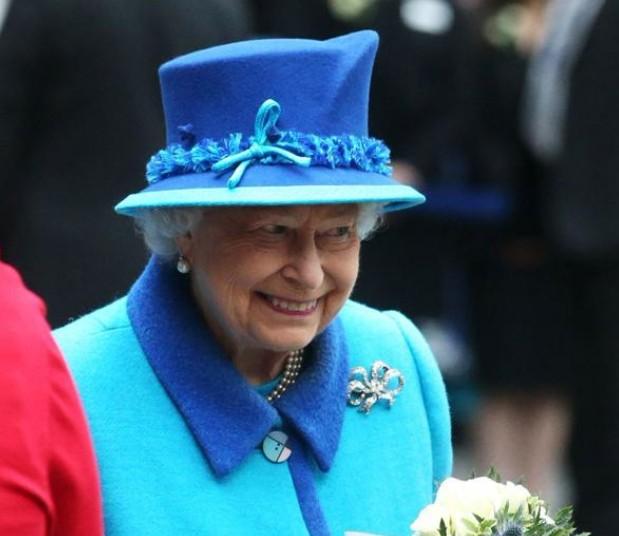 Elizabeth II le 9 septembre 2015