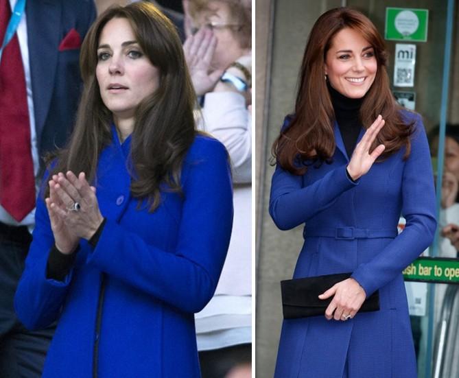 Les manteaux bleus à l'honneur