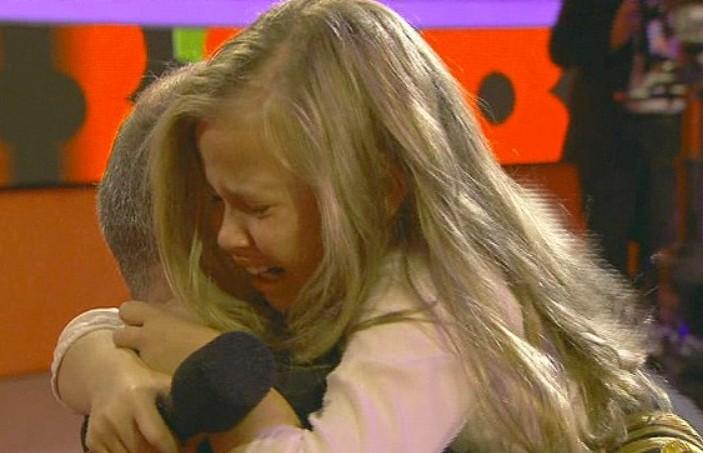 Les larmes de Megan