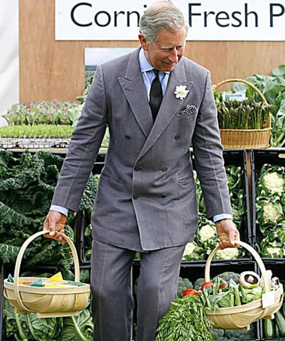 Le roi de l'agriculture belle et bio