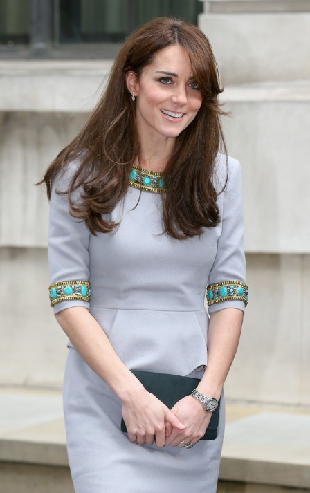 Kate a remis sa robe Matthew Williamson