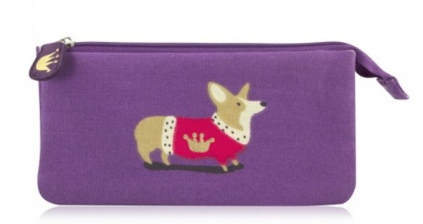 Royal Corgi Cosmetic Purse £12.95 Royal Collection Trust Shop