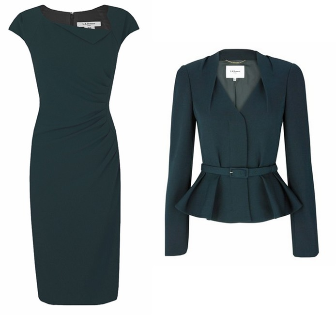 Davina dress et Jude jacket LK.Bennett