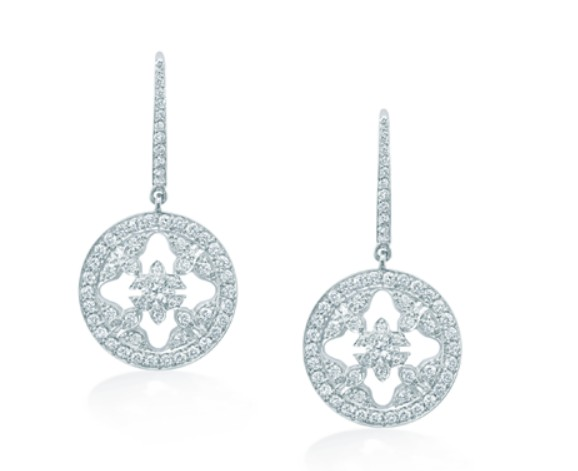 "Mappin & Webb ""Empress"" earrings"