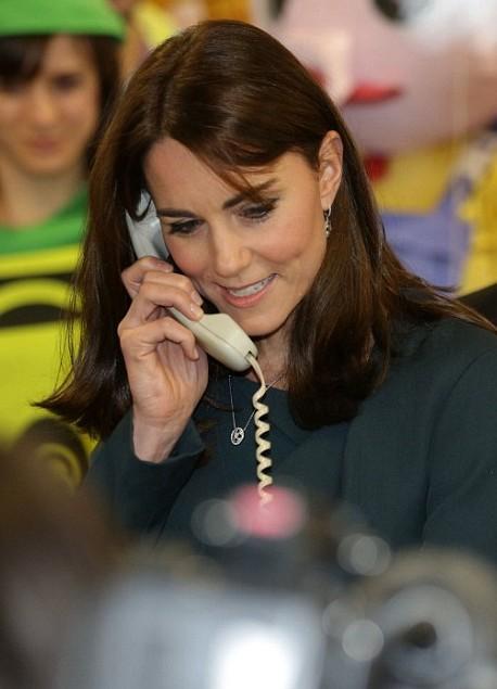 Kate va faire des miracles avec un seul combiné
