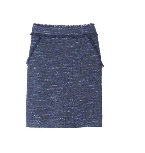 "Rebecca Taylor ""Sparkle Tweed"" skirt"