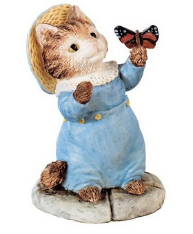 Pour Charlotte une figurine Beatrix Potter Tom Kitten