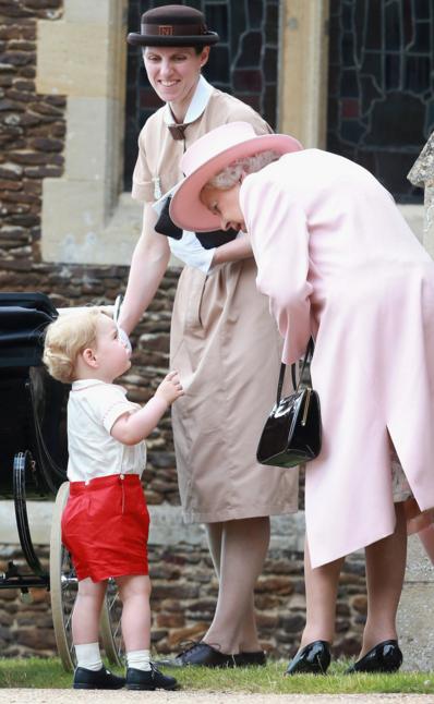 Juillet 2015 baptême de la princesse Charlotte de Cambridge