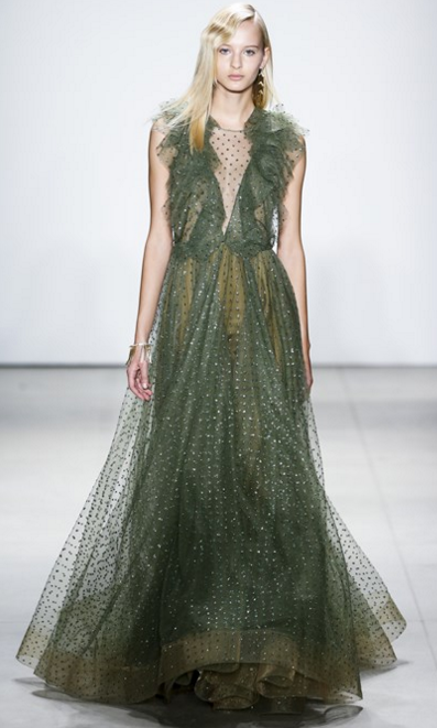 Jenny Packham du tulle fit for a Duchess