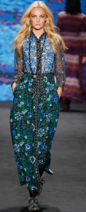 Anna Sui fall 2015