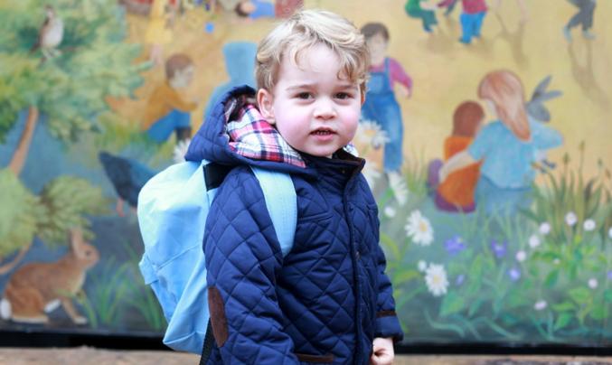 George libère son Moi créatif à la crèche Montessori