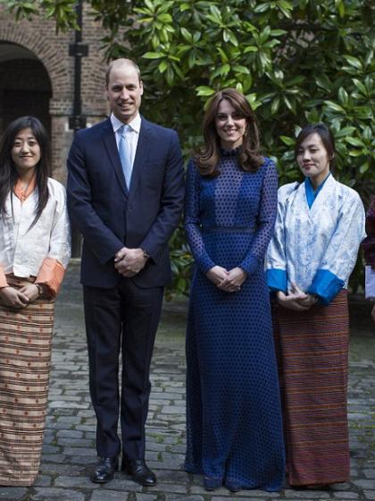 kate-pre-tour-reception-bhoutan-saloni-robe