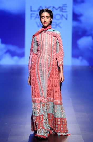 The Gulrukh Kurta Sharara and Dupatta