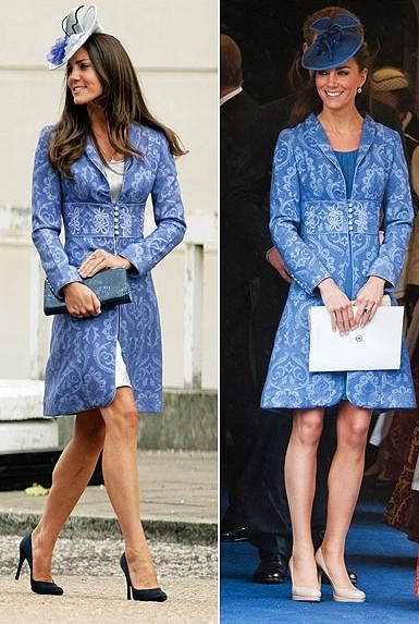 kate-royal-recycler-manteau-brocart-windsor-anniversaire-prince-philip