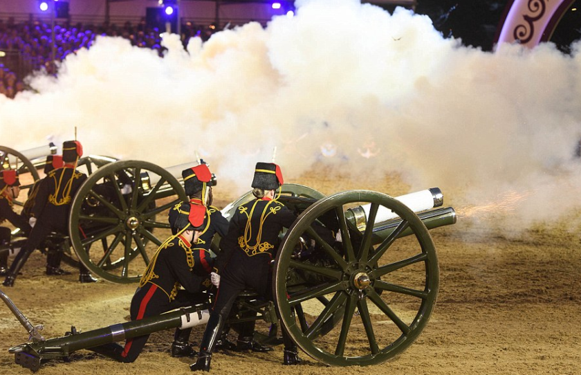 Les canons de Windsor photo Ben Cawthra/LNP
