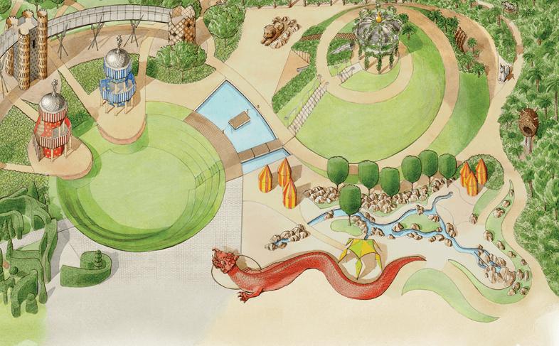 hampton-court-magic-garden-aire-jeux-surrey-kate