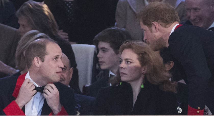 Les smokings d'écuyers de William et Harry Photo Stephen Lock