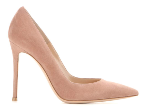 Suede pumps Gianvito Rossi