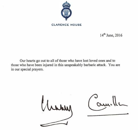 Les mots de Charles et Camilla