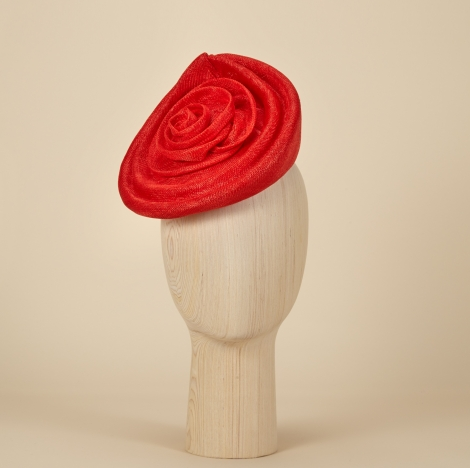 Morning Rose perching hat Lock&Co Hatters