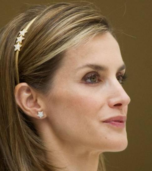 Des étoiles pour la reine Letizia photo Abaca