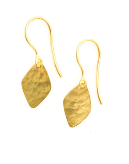 Pippa Small Gold Kite earrings
