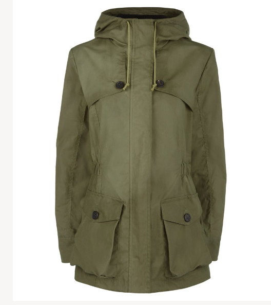 Troy London Wax Parka