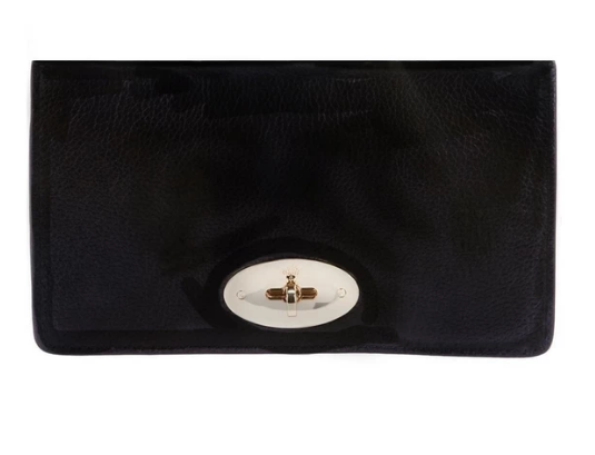 Bayswater suede Mulberry clutch