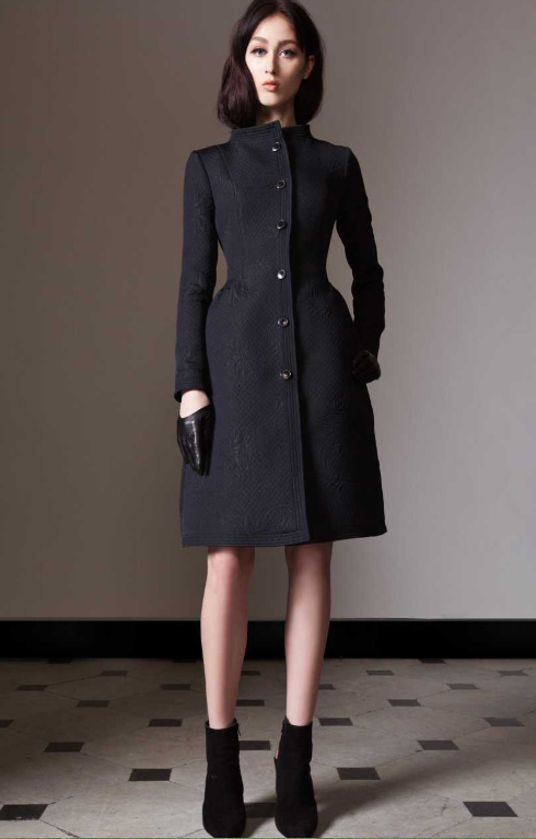 Callas coat Prefall 2014 Alice Temperley