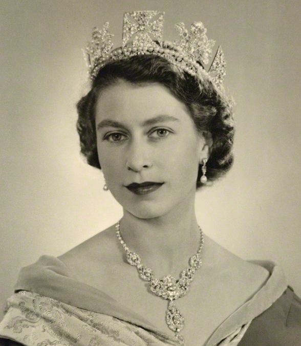 Portrait royal signé Dorothy Wilding 1952