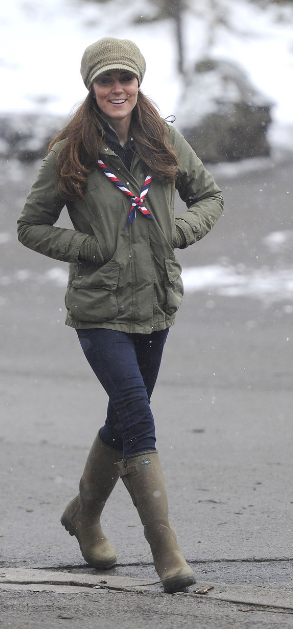 kate-veste-barbour-neige-scouts