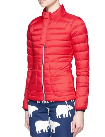Percet Moment quilted ski jacket