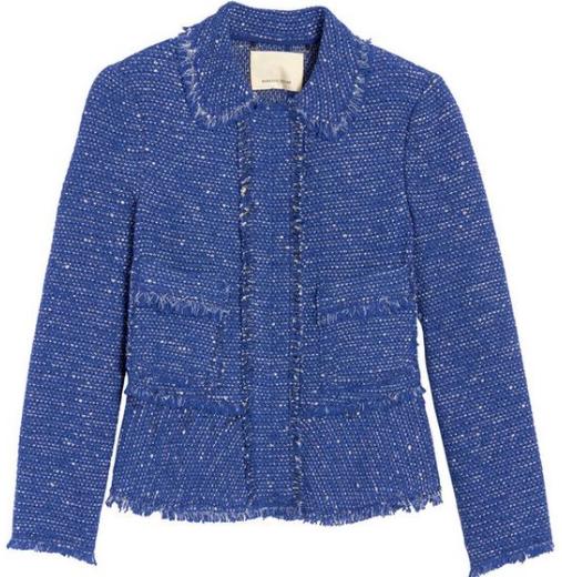 "Rebecca Taylor ""Sparkle tweed""jacket"