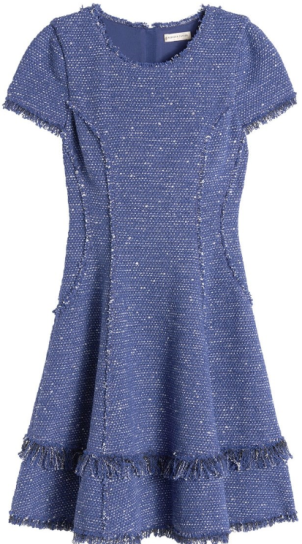 Sparkle tweed dress