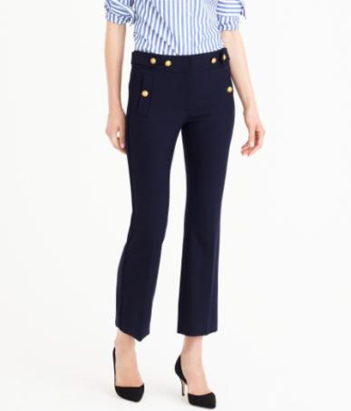 Pantalon à pont J.Crew