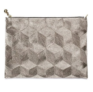 Anne Grand-Clement Plain Iron Pouch