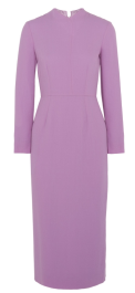 Robe lilas Emilia Wickstead