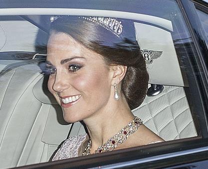 BO vues au Banquet de la reine d'Espagne