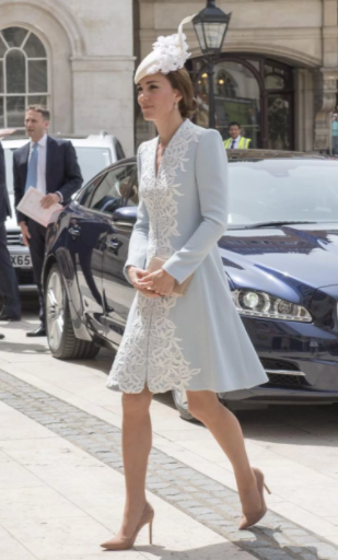 Kate en Melrose coat