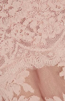 Soft pink lace