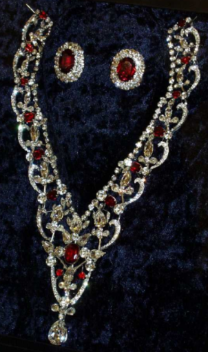 Collier Grenville rubis et diamants