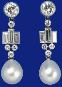 Perles et diamants du sheik de Bahrein