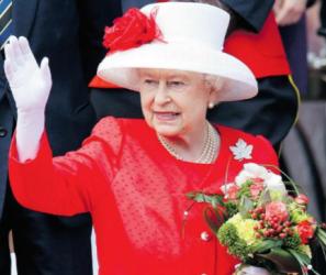 Sur la reine en exercice