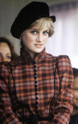 Lady Diana en Ecosse